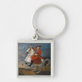 ルイの乗馬のポートレートXVI 1791年 キーホルダー
