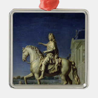 ルイの乗馬の彫像の輸送 メタルオーナメント