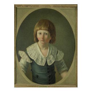 ルイは、寺院で、XVII 1793年8つを老化させました ポストカード