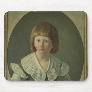 ルイは、寺院で、XVII 1793年8つを老化させました マウスパッド