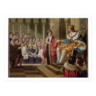 ルイはXII (1462-1515年) Peoplの父を宣言しました ポストカード