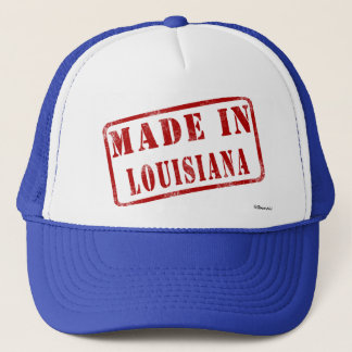 ルイジアナで作られる キャップ