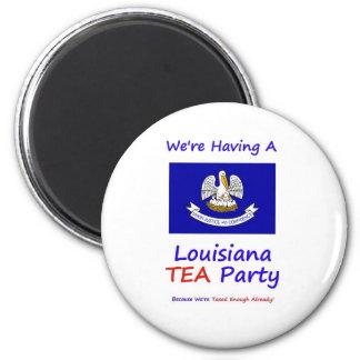 ルイジアナのお茶会-私達は十分既に課税されます! マグネット