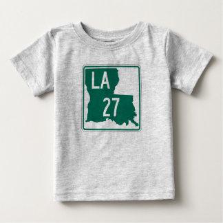 ルイジアナのハイウェー27 ベビーTシャツ