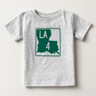 ルイジアナのハイウェー4 ベビーTシャツ