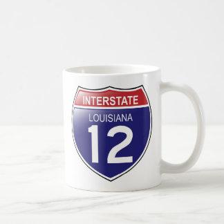 ルイジアナのマグの州連帯の12 コーヒーマグカップ