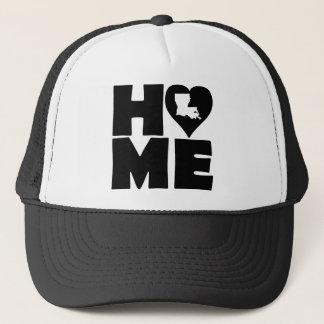 ルイジアナの家のハートの州の球の帽子のトラック運転手の帽子 キャップ