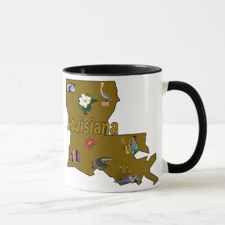 ルイジアナの州情報のマグ マグカップ