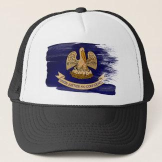 ルイジアナの旗のトラック運転手の帽子 キャップ