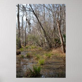 ルイジアナの泥地ポスター ポスター