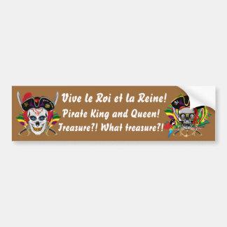 ルイジアナの海賊禁制品の日30色 バンパーステッカー