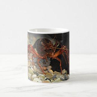 ルイジアナのCrawfish コーヒーマグカップ