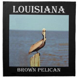 ルイジアナブラウンのペリカン4.jpg ナプキンクロス
