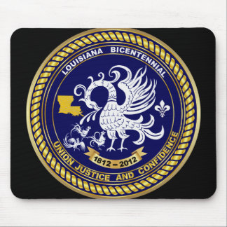 ルイジアナ二百年毎の1812-2012年 マウスパッド