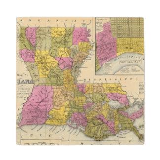 ルイジアナ3の新しい地図 ウッドコースター