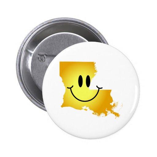 ルイジアナ|スマイリー|顔 缶バッジ