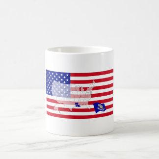 ルイジアナ、米国 コーヒーマグカップ