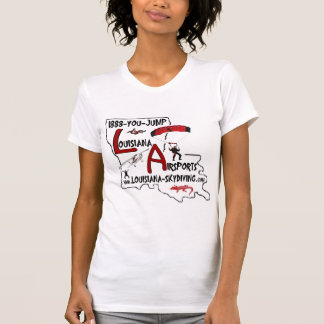 ルイジアナSkydiving 5月8日 Tシャツ