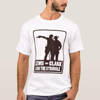 ルイスおよびクラーク Tシャツ