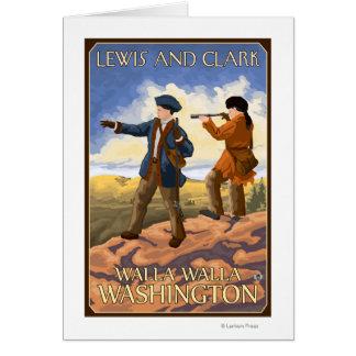 ルイスおよびクラーク- Walla Walla、ワシントン州 カード