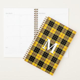 ルイスのタータンチェックの素晴らしいスコットランドの一族MacLeod プランナー手帳