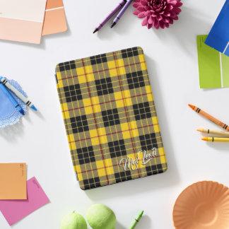 ルイスのタータンチェック格子縞のスコットランドの一族MacLeod iPad Proカバー