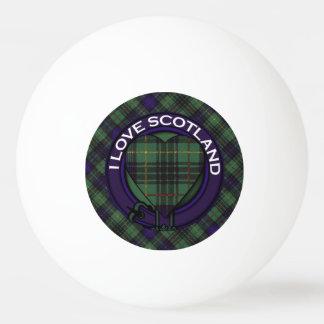 ルイスの一族の格子縞のスコットランドのキルトのタータンチェック 卓球ボール