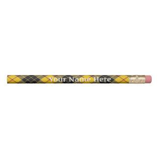 ルイスの黄色いタータンチェックのスコットランドの送風一族MacLeod 鉛筆