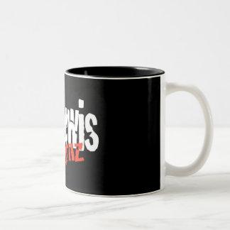 ルイスReturnz氏のコーヒー・マグ ツートーンマグカップ