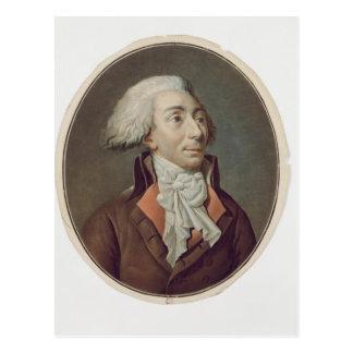 ルイマイケルLe Peletier deの聖者Fargeau 1792年 ポストカード