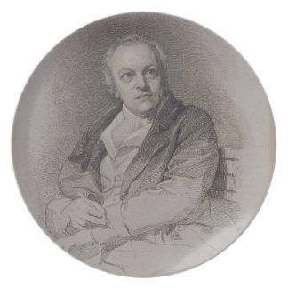 ルイージSchiav著刻まれるウィリアムブレイク(1757-1827年) プレート