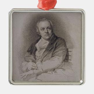 ルイージSchiav著刻まれるウィリアムブレイク(1757-1827年) メタルオーナメント