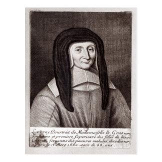 ルイーズde Marillacのポートレート ポストカード