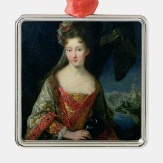 ルイーズHippolyte (1687-1731年)のポートレート、プリンセス メタルオーナメント
