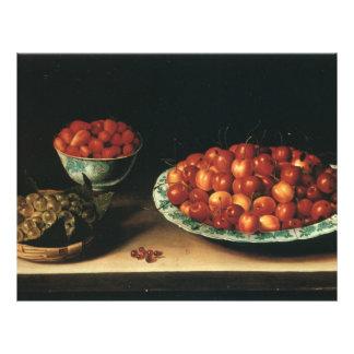 ルイーズMoillonのさくらんぼのいちごのセイヨウスグリ チラシ