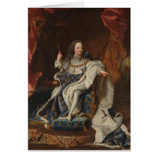 ルイ王Hyacinthe Rigaud著子供としてXV カード