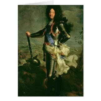 ルイ14世のポートレート カード