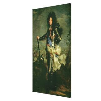 ルイ14世のポートレート キャンバスプリント