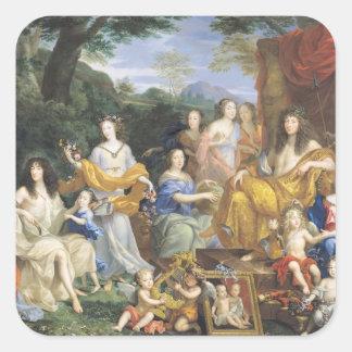 ルイ14世の系列1670 2 スクエアシール