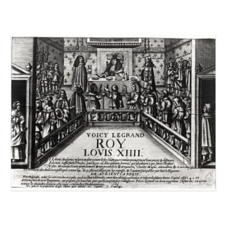 ルイ14世管理の正義 ポストカード