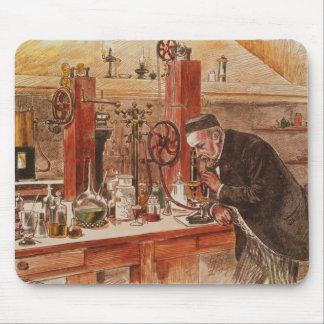 ルイ・パスツールの実験 マウスパッド