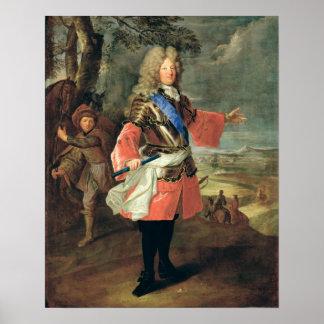 ルイdeフランスLe Grand Dauphin 1697年 ポスター