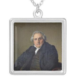 ルイFrancoisベルタン1832年 シルバープレートネックレス