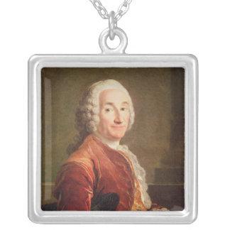 ルイFrancois Armand de Vignerot DU Plessis シルバープレートネックレス