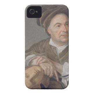 ルイFrancois Roubiliac (1702-62年) (papeでパステル調 Case-Mate iPhone 4 ケース