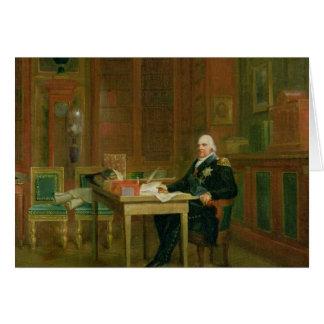 ルイTuileriesの彼の勉強のXVIII カード
