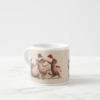 ルイWain猫の大災害のExpressoの愛らしいマグ エスプレッソカップ