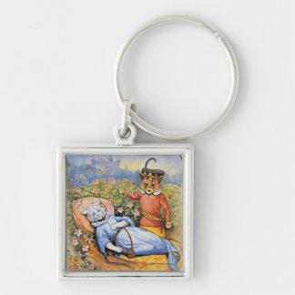 ルイWain猫の眠れる森の美女Keychain キーホルダー