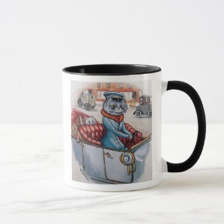 ルイWain -猫の運転者 マグカップ