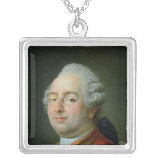 ルイXVI 1786年 シルバープレートネックレス